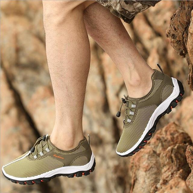 Men Summer Fashion Holed Shoes / Lace Up Casual Shoes-style 3-10-JadeMoghul Inc.