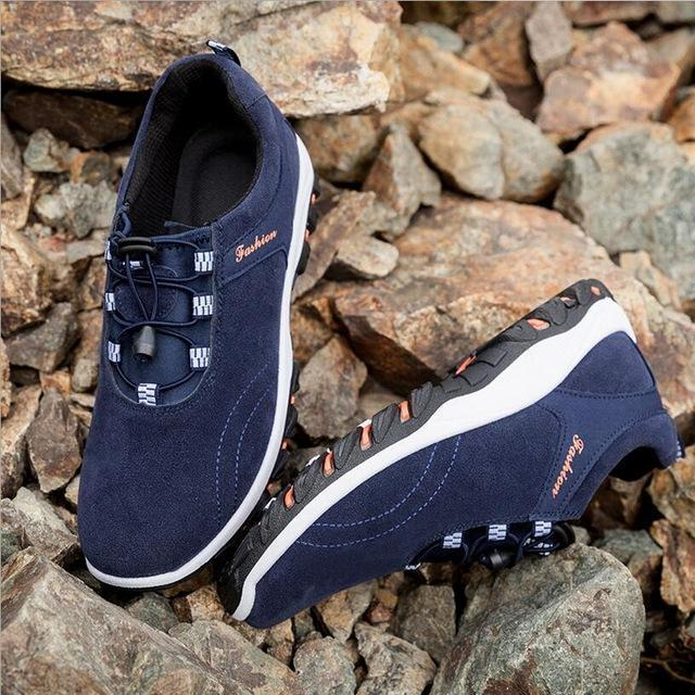 Men Summer Fashion Holed Shoes / Lace Up Casual Shoes-style 4-10-JadeMoghul Inc.