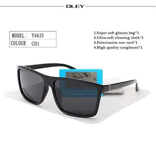 Men Sunglasses HD Polarized Men Sunglasses / Unisex Driving Goggles AExp