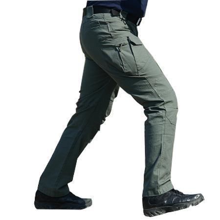 Men Tactical Multi Pocket Pants / Men Army Combat Trousers-Army Green-XXL-JadeMoghul Inc.