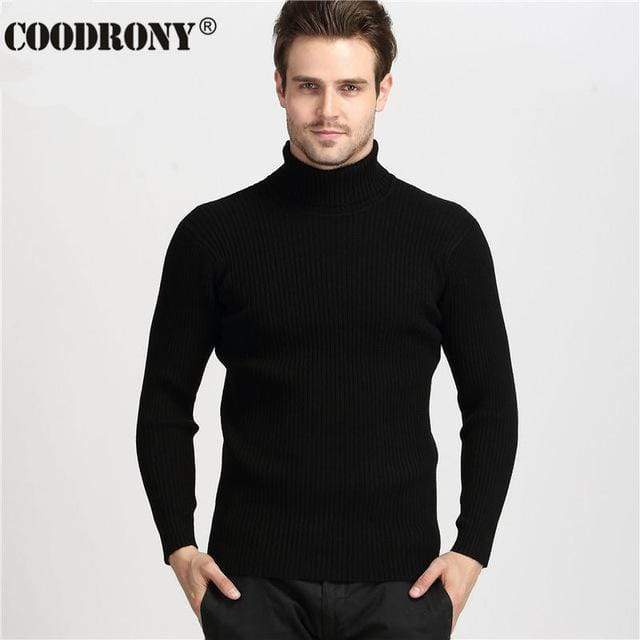 Men Thick Warm Turtleneck  / Slim Fit Pullover AExp