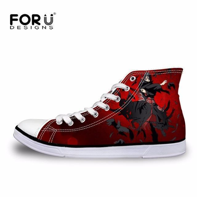 Men Top Canvas Shoes / Classic High-Top Flat Shoe-H899AK-5-JadeMoghul Inc.