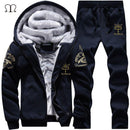 Men Track Suit Casual Outwear-grey-M-JadeMoghul Inc.