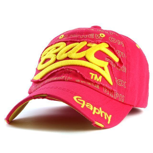 Men / women Unisex Base ball Hat With embroidered And Print Detailing-red-adjustable-JadeMoghul Inc.