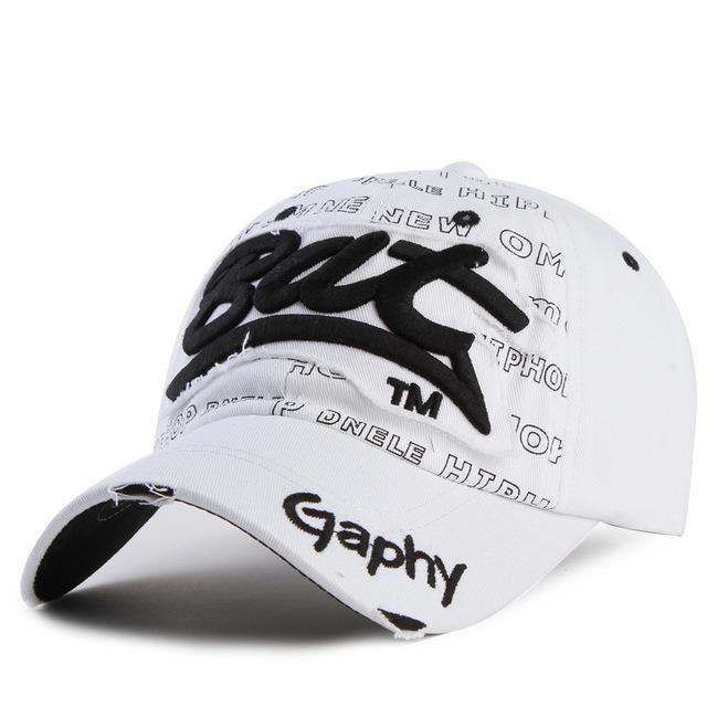 Men / women Unisex Base ball Hat With embroidered And Print Detailing-white-adjustable-JadeMoghul Inc.