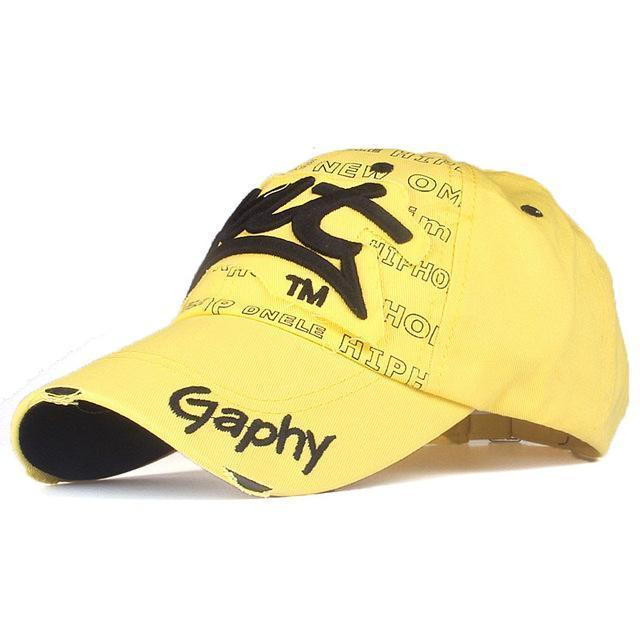 Men / women Unisex Base ball Hat With embroidered And Print Detailing-yellow black-adjustable-JadeMoghul Inc.