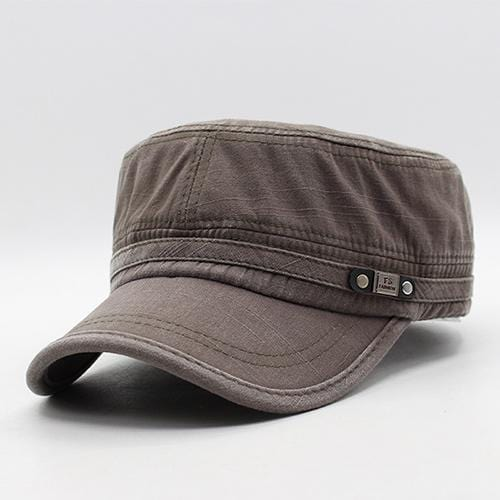 Men / women Unisex Military Style Cotton Hat-gray green-JadeMoghul Inc.