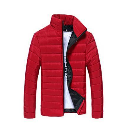 Mens Casual Jacket For All Seasons-Red-M-JadeMoghul Inc.