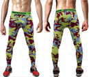 Mens Compression Pants - Crossfit Tights Men Bodybuilding Pants Trousers Camouflage Joggers-KC10-S-JadeMoghul Inc.