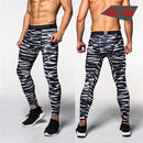 Mens Compression Pants - Crossfit Tights Men Bodybuilding Pants Trousers Camouflage Joggers-KC46-S-JadeMoghul Inc.