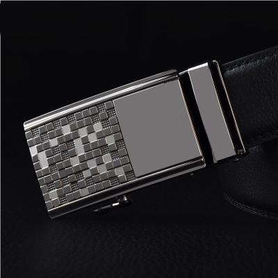 Mens Designer Belt / Real Leather Automatic Buckle Male Belt-Belt 12-110cm-JadeMoghul Inc.