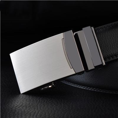 Mens Designer Belt / Real Leather Automatic Buckle Male Belt-Belt 2-110cm-JadeMoghul Inc.