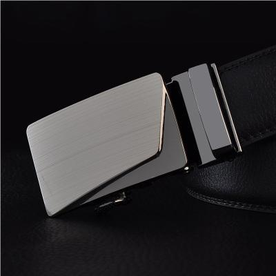 Mens Designer Belt / Real Leather Automatic Buckle Male Belt-Belt 4-110cm-JadeMoghul Inc.