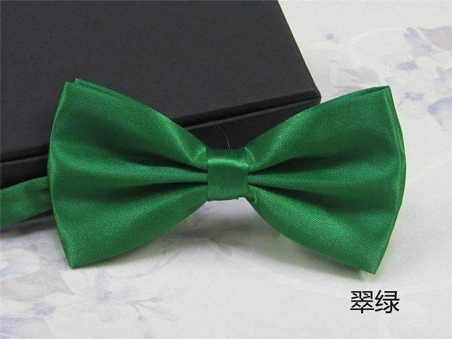 Men's Fashion Silk BowTie-green-JadeMoghul Inc.