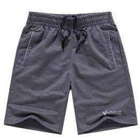 Men's Summer Beach Shorts-Dark Grey-XXXL-JadeMoghul Inc.