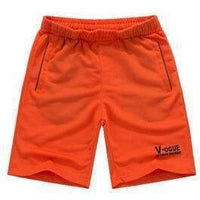 Men's Summer Beach Shorts-Orange-XXXL-JadeMoghul Inc.