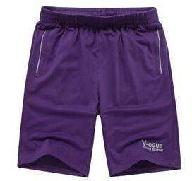 Men's Summer Beach Shorts-Purple-XXXL-JadeMoghul Inc.