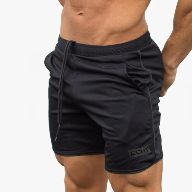 Mens summer new fitness shorts Fashion leisure gyms Crossfit Bodybuilding Workout Joggers male short pants Brand clothing-C1-M-JadeMoghul Inc.