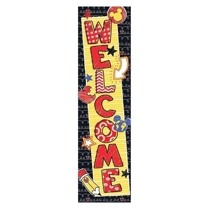 MICKEY COLOR POP WELCOME BANNER-Learning Materials-JadeMoghul Inc.