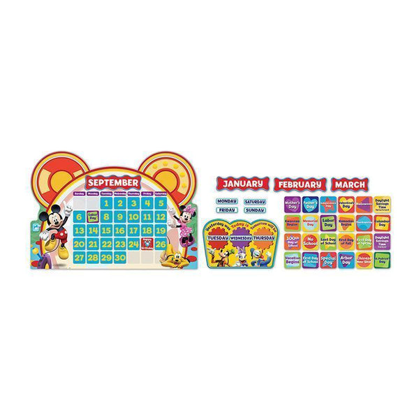 MICKEY MOUSE CLUBHOUSE CALENDAR SET-Learning Materials-JadeMoghul Inc.
