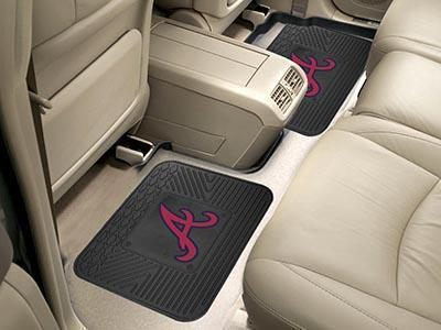 "MLB - Atlanta Braves 2-pc Utility Car Mat 14""x17""-2 Utility Mats-JadeMoghul Inc."
