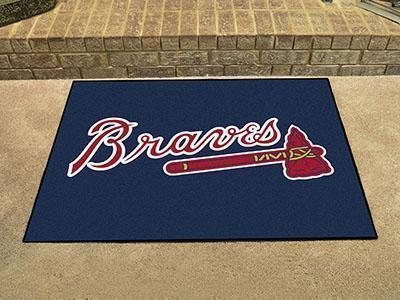 "MLB - Atlanta Braves All-Star Mat 33.75""x42.5""-All Star Mat-JadeMoghul Inc."