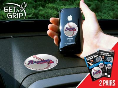 MLB - Atlanta Braves Get an Automotive Grip 2 Pack-2 Get a Grip-JadeMoghul Inc.