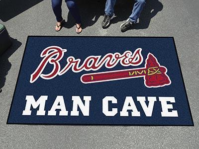 MLB - Atlanta Braves Man Cave UltiMat 5'x8' Rug-Man Cave Ultimat-JadeMoghul Inc.
