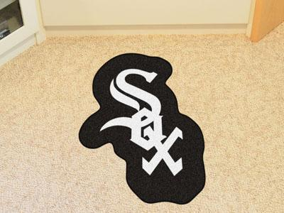 MLB - Chicago White Sox Mascot Custom Shape Mat-Mascot Mat-JadeMoghul Inc.
