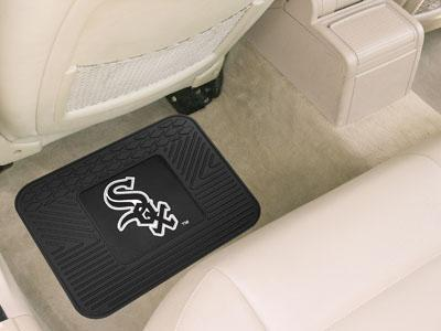 "MLB - Chicago White Sox Utility Car Mat 14""x17""-Utility Mat-JadeMoghul Inc."
