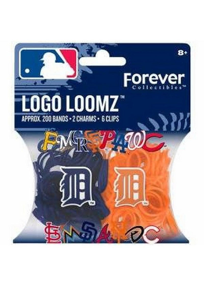 MLB Detroit Tigers Logo Loomz Filler Pack Orange-LICENSED NOVELTIES-JadeMoghul Inc.