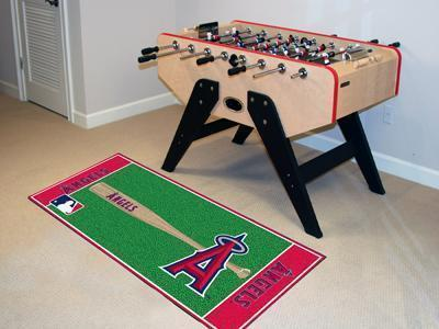 "MLB - Los Angeles Angels Baseball Runner Mat 30""x72""-Baseball Runner-JadeMoghul Inc."