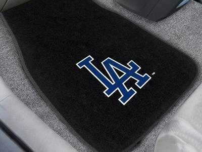 "Weather Car Mats MLB Los Angeles Dodgers 2-pc Embroidered Front Car Mats 18""x27"""