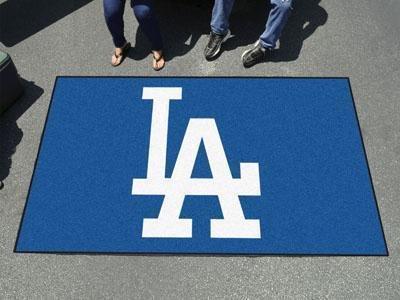 Outdoor Rugs MLB Los Angeles Dodgers 'LA' Ulti-Mat
