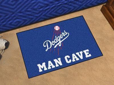 "Area Rugs MLB Los Angeles Dodgers Man Cave Starter Rug 19""x30"""