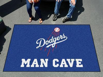 Outdoor Rugs MLB Los Angeles Dodgers Man Cave UltiMat 5'x8' Rug