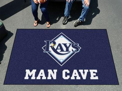 Outdoor Rug MLB Tampa Bay Rays Man Cave UltiMat 5'x8' Rug