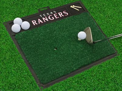 "MLB - Texas Rangers Golf Hitting Mat 20"" x 17""-Golf Hitting Mat-JadeMoghul Inc."