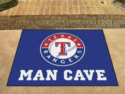 "MLB - Texas Rangers Man Cave All-Star Mat 33.75""x42.5""-Man Cave All-Star-JadeMoghul Inc."