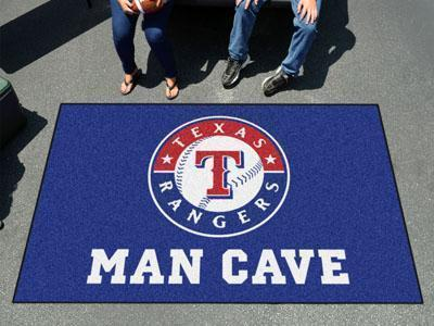 MLB - Texas Rangers Man Cave UltiMat 5'x8' Rug-Man Cave Ultimat-JadeMoghul Inc.