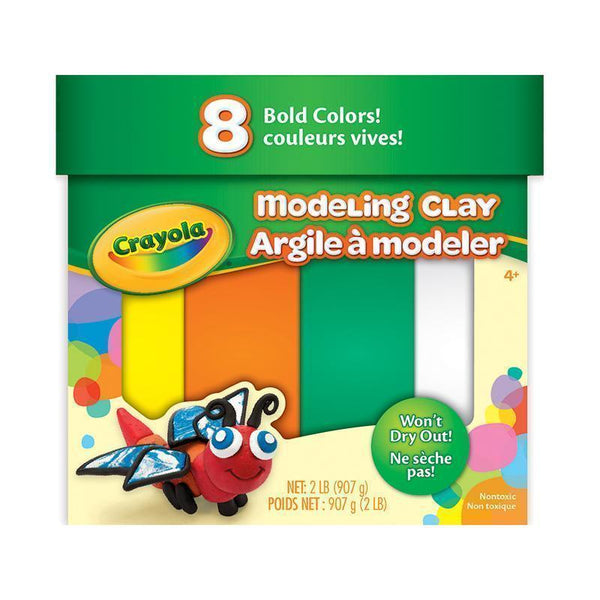 MODELING CLAY 2 LB JUMBO ASSORTMENT-Arts & Crafts-JadeMoghul Inc.