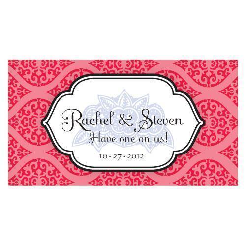 Moroccan Small Ticket Ruby (Pack of 120)-Reception Stationery-Red-JadeMoghul Inc.