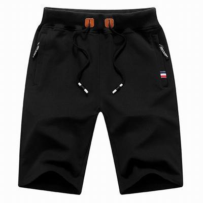 Mountainskin 2017 Solid Men's Shorts 4XL Summer Mens Beach Shorts Cotton Casual Male Shorts homme Brand Clothing SA210-Black-M-JadeMoghul Inc.