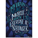 MY BRAIN IS LIKE A MUSCLE POSTER-Learning Materials-JadeMoghul Inc.