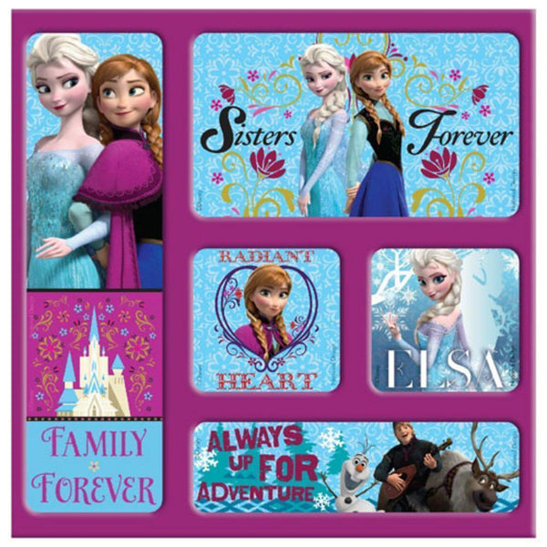 National Design Disney Frozen Magnet Memories in Film Bag (5-Pack)-NBA-JadeMoghul Inc.