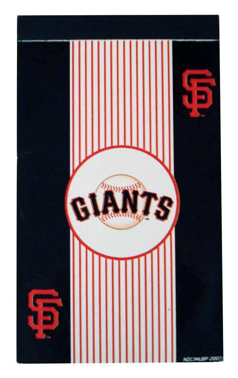 National Design MLB San Francisco Giants 3x5-Inch Flip Pad-Back to School Supplies-JadeMoghul Inc.