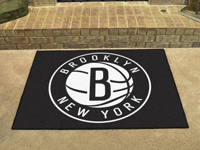 "NBA - Brooklyn Nets All-Star Mat 33.75""x42.5""-All Star Mat-JadeMoghul Inc."