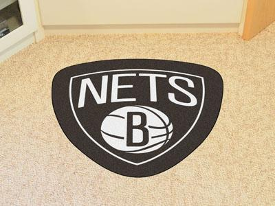 NBA - Brooklyn Nets Mascot Custom Shape Mat-Mascot Mat-JadeMoghul Inc.