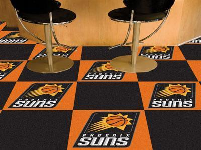 "NBA - Phoenix Suns 18""x18"" Carpet Tiles-Team Carpet Tiles-JadeMoghul Inc."