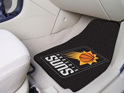 "NBA - Phoenix Suns 2-pc Carpeted Front Car Mats 17""x27""-2-pc Carpet Car Mat Set-JadeMoghul Inc."
